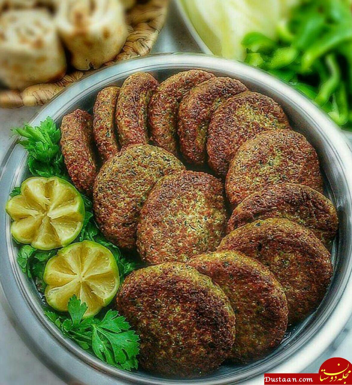 www.dustaan.com طرز تهیه شامی سویا به سبکی خوشمزه