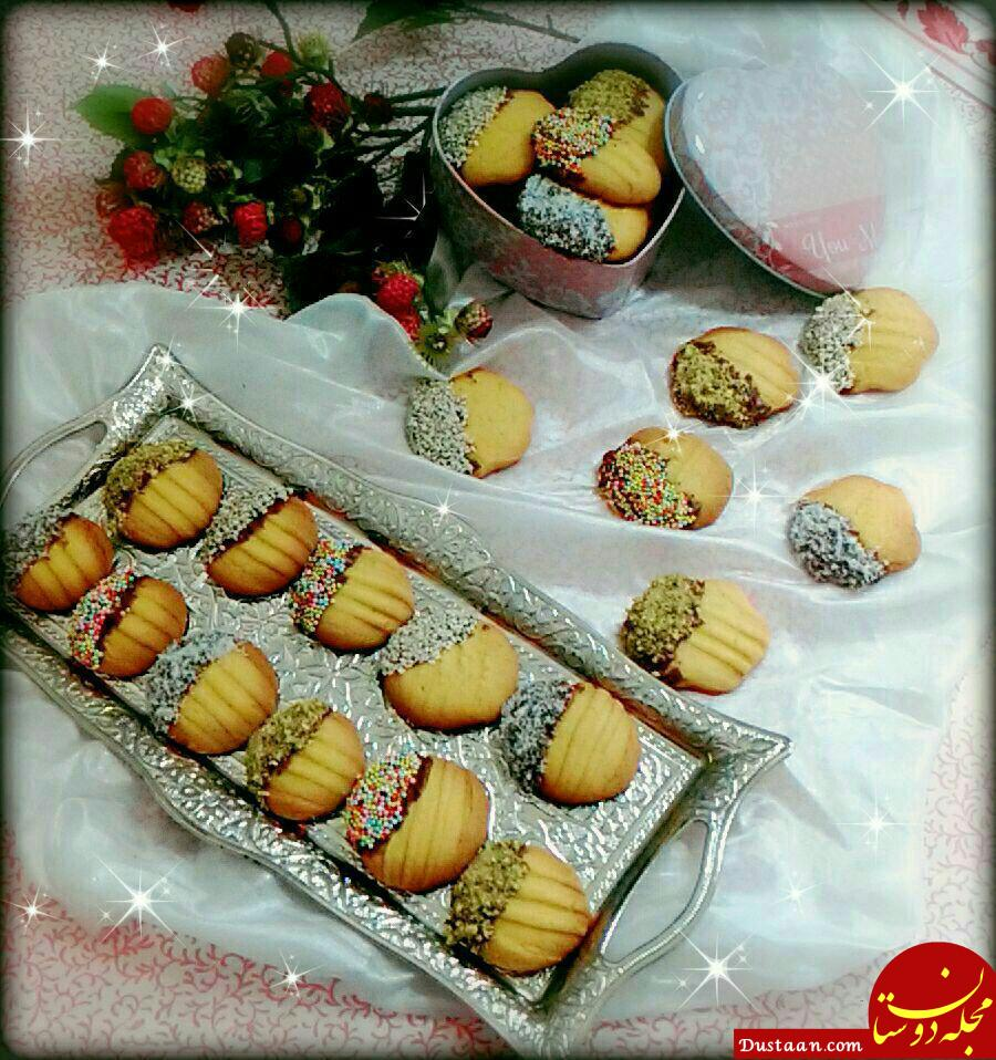 www.dustaan.com طرز تهیه شیرینی چنگالی به سبکی خوشمزه و خاص!