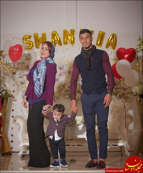 بیوگرافی علی علیپور و همسرش زهرا دژوان + عکس های خانوادگی
