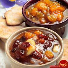 www.dustaan.com طرز تهیه مربای سیب و کشمش