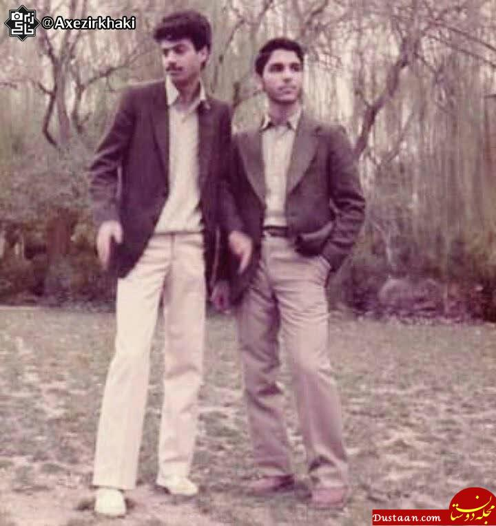 www.dustaan.com عکس دیدنی مهران مدیری در سال 63