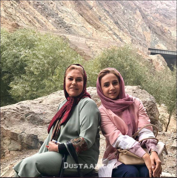 www.dustaan.com عکس دیدنی شبنم قلی خانی و مهرانه مهین ترابی در دل طبیعت