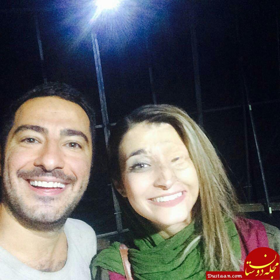 www.dustaan.com نوید محمدزاده و مرضیه ابراهیمی در یک قاب