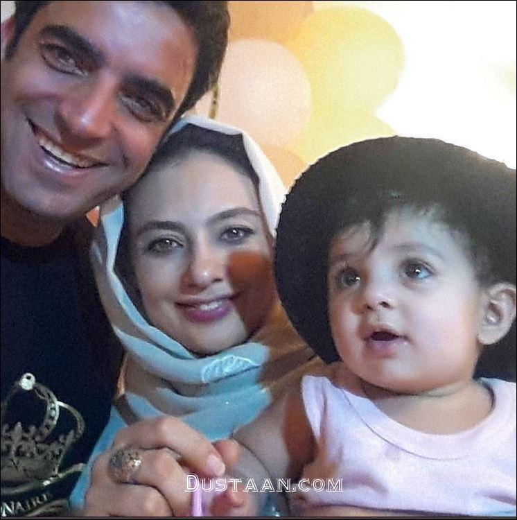 سلفی زیبای یکتا ناصر به همراه همسر و دخترش سوفیا