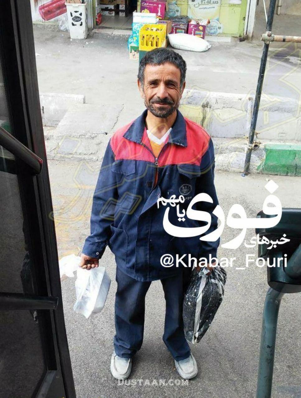 شباهت جالب این مرد به احمدی نژاد! +عکس