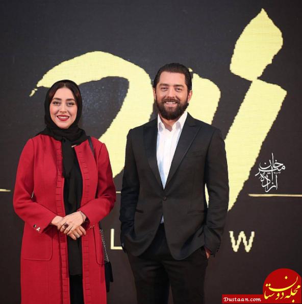 بهرام رادان و بهاره کیان افشار در اکران خصوصی زرد +عکس