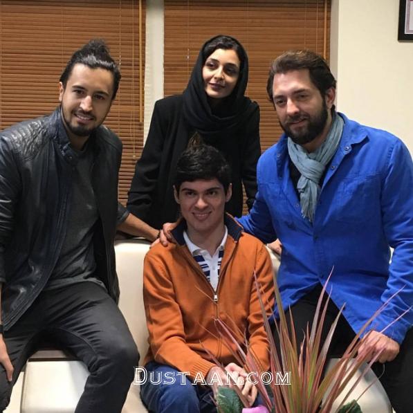 www.dustaan.com بهرام رادان و ساره بیات در اکران فیلم «زرد» +عکس