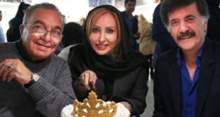 غافلگیری پرستو صالحی در جشن تولد 41 سالگی اش +تصاویر
