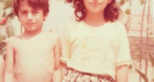 عکسی دیده نشده از بهنوش بختیاری در دوران کودکی