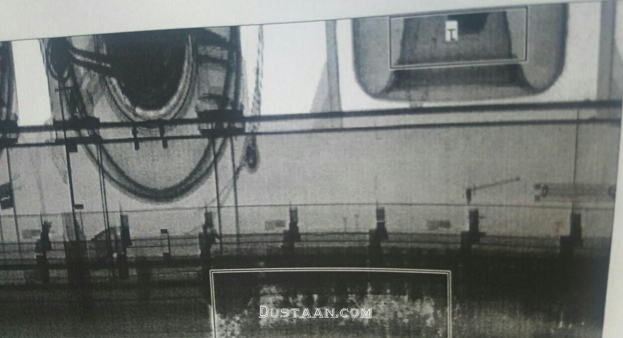 www.dustaan.com 45 کیلو نقره قاچاق در زاپاس کامیون +عکس