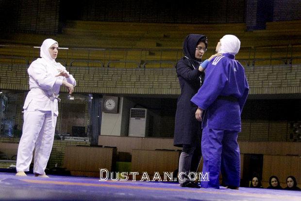 www.dustaan.com قضاوت داوران زن ایرانی در رقابت های جهانی گراپلینگ +عکس