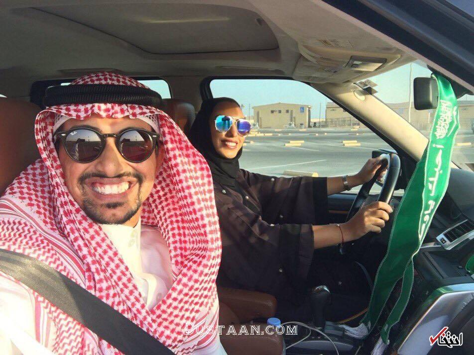 www.dustaan.com نحوه آموزش رانندگی به زنان عربستانی! +عکس