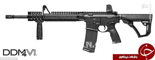 اسلحههای قاتل لاس وگاس +تصاویر