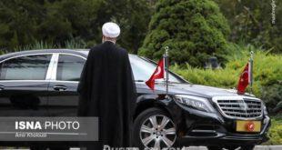 خودرو اردوغان در تهران +عکس