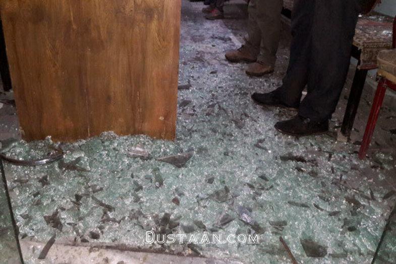 www.dustaan.com انفجار چندین واحد در فیروزکوه در اثر نشت گاز +عکس