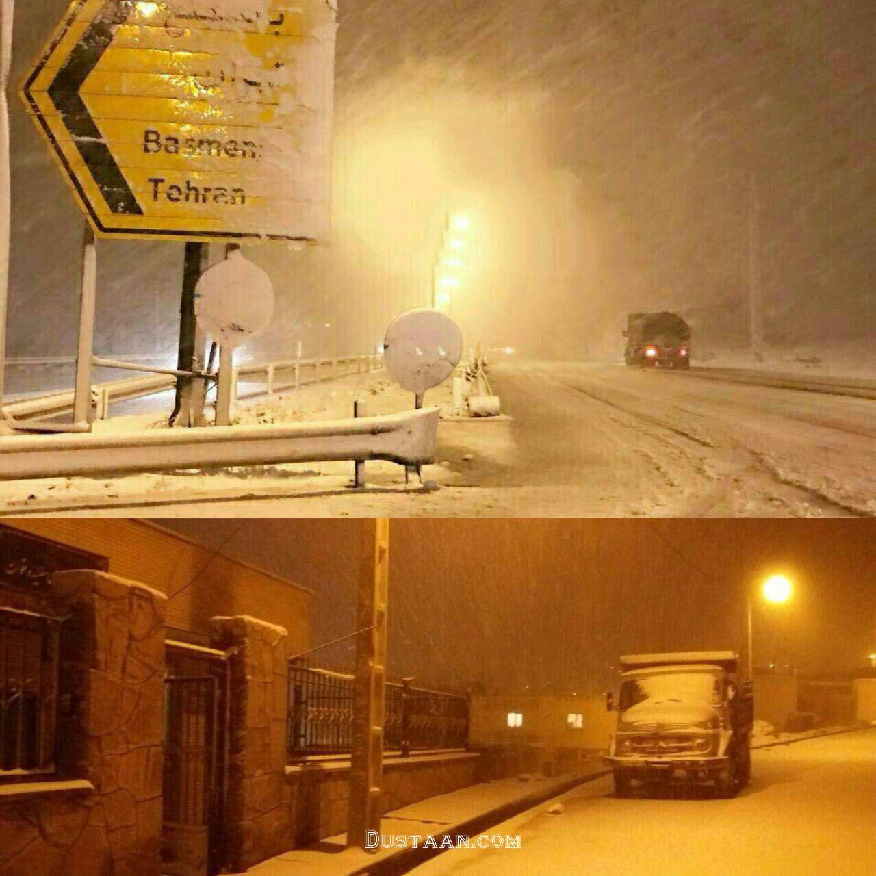 www.dustaan.com برف سنگین پاییزی در تبریز +عکس