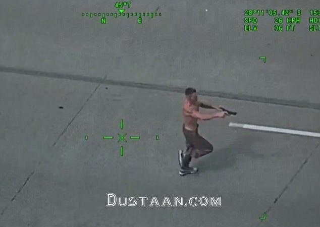سرقت مسلحانهای که ناکام ماند + فیلم و تصاویر