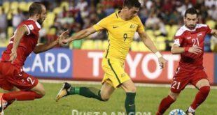 تساوی سوریه و استرالیا در دیدار رفت پلی آف صعود به جام جهانی