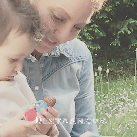 www.dustaan.com عکس دیدنی از «مهناز افشار» و دخترش «لیانا»