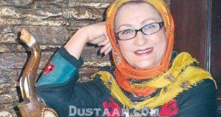 بازیگر زن معروف : مراسم تشییع جنازه بنده رو به نحو احسنت برگزار کردند +عکس