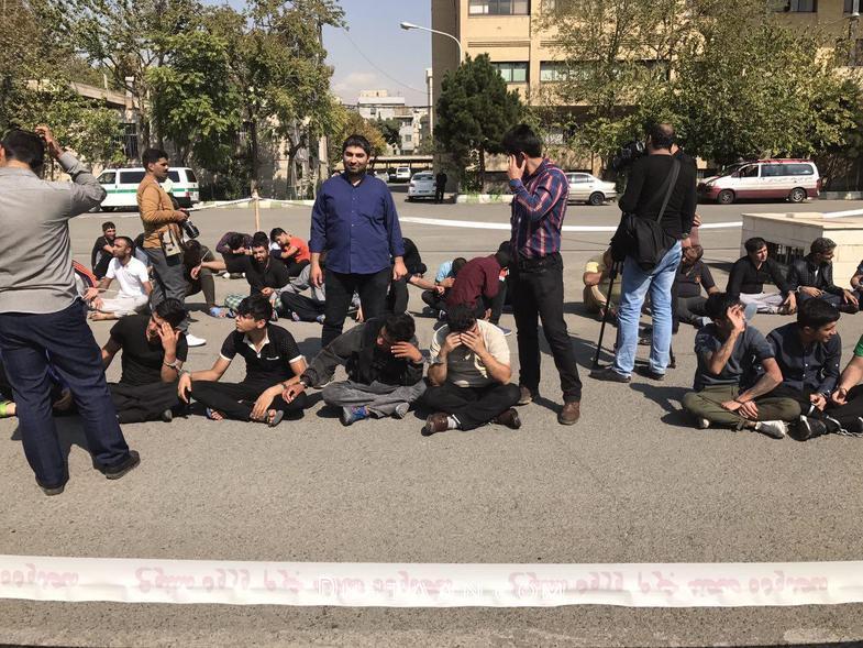 تصاویر : آخرین جزئیات دستگیری حرفهایترین جاعلان تهرانی