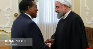 تصاویر دیدار وزیر خارجه تانزانیا با روحانی