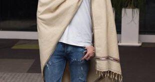پتوی سربازی؛ جدیدترین مد لباس سلبریتیها +عکس