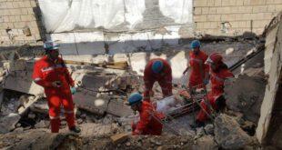 تخریب غیر اصولی ساختمان درمشهد حادثه ساز شد +تصاویر