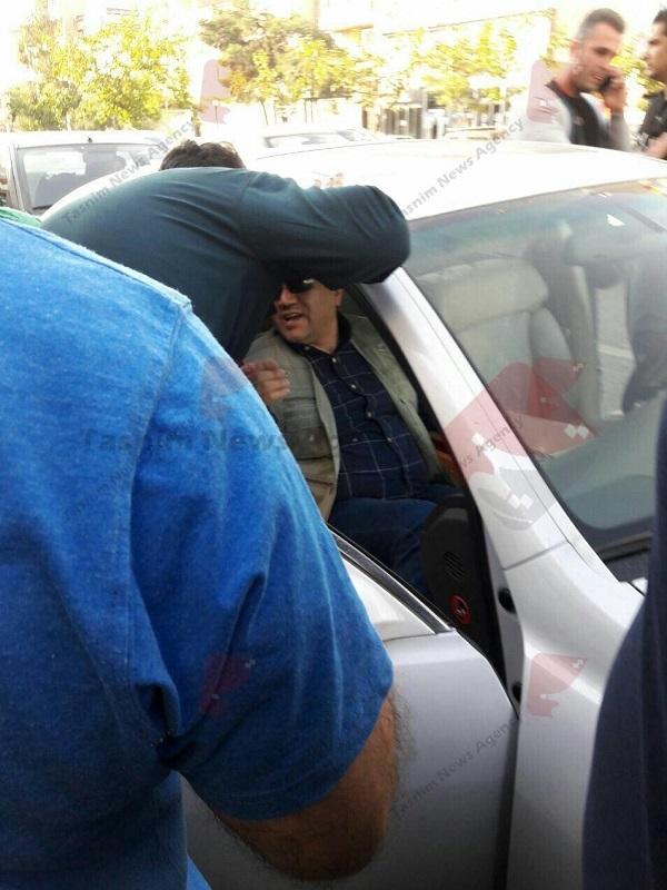 www.dustaan.com لحظه بازداشت  حمیدرضا جهانیان مالک باشگاه نفت +عکس