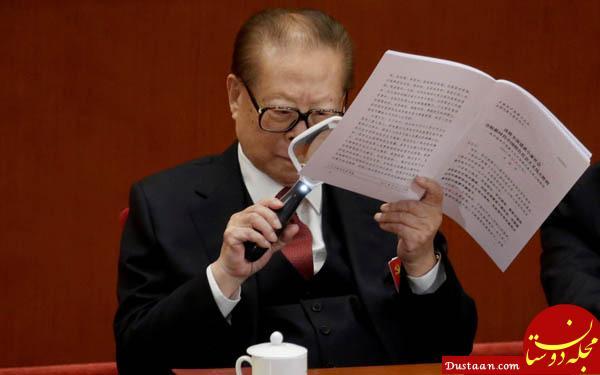 رئیس جمهور سابق چین زنده شد!+ تصاویر