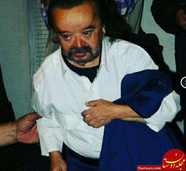 www.dustaan.com قهر اسداله یکتا باچشمان اشک آلود از جشن تقدیر سینما +عکس