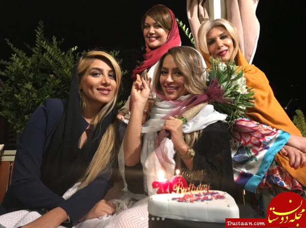 www.dustaan.com جشن تولد سی و یک سالگی سمانه پاکدل +تصاویر و بیوگرافی