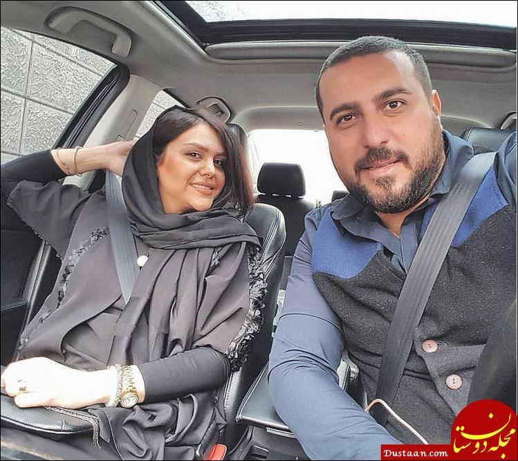 www.dustaan.com سلفی زیبای محسن کیایی و همسرش