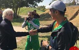 خوش و بش شفر و فردوسی پور در زمین تمرین استقلال +عکس