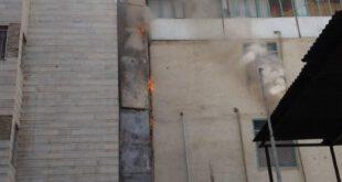 جزئیات آتشسوزی در بیمارستان سیدالشهدا تهران +عکس