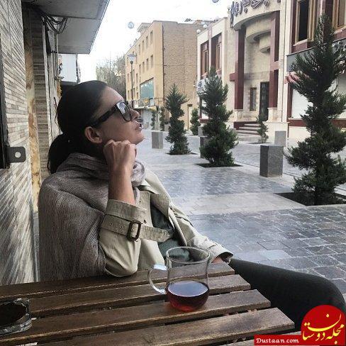 www.dustaan.com بازیگر سرشناس سینمای ترکیه بدون حجاب در ایران! +عکس