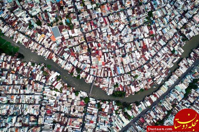 www.dustaan.com زاغهنشینان هوشی مین ویتنام در عکس روز نشنال جئوگرافیک +عکس