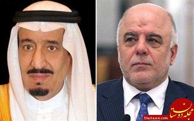 www.dustaan.com دعوت ملک سلمان پادشاه عربستان از العبادی برای سفر به ریاض +عکس