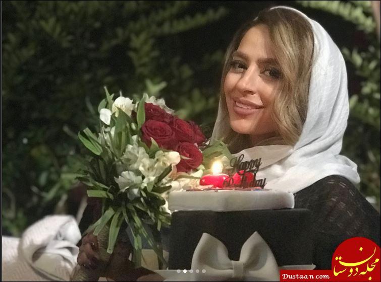 www.dustaan.com سمانه پاکدل در جشن تولد 30 سالگی اش +عکس