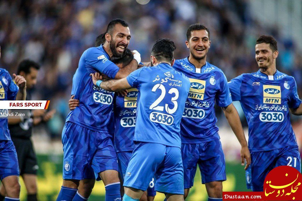 www.dustaan.com کسب اولین پیروزی استقلال با شفر