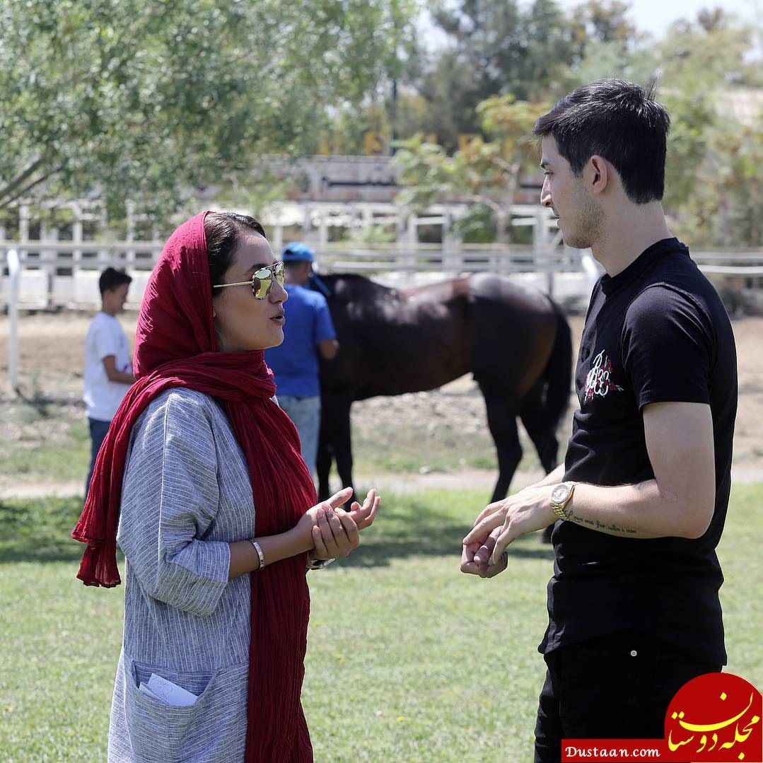 www.dustaan.com ساخت مستندی درباره اسب سردار آزمون توسط بهاره افشاری!