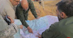 حضور سردار باقری در مناطق عملیاتی استان حلب +عکس