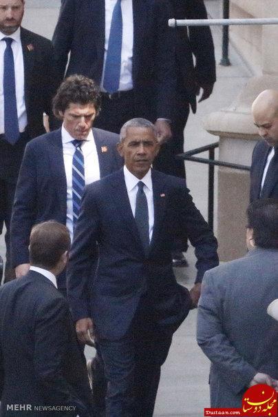 اوباما پس از ترک کاخ سفید چه می کند؟ +تصاویر