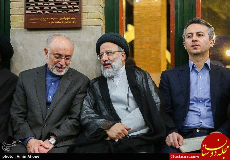 www.dustaan.com عکس: هم نشینی رئیسی با معاون رقیب انتخاباتی اش