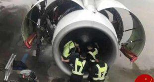 تکرار اتفاقی عجیب در چین/ انداختن سکه در موتور هواپیما برای سفری بی خطر