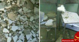 فرو ریختن سقف مدرسهای در قلعه گنج
