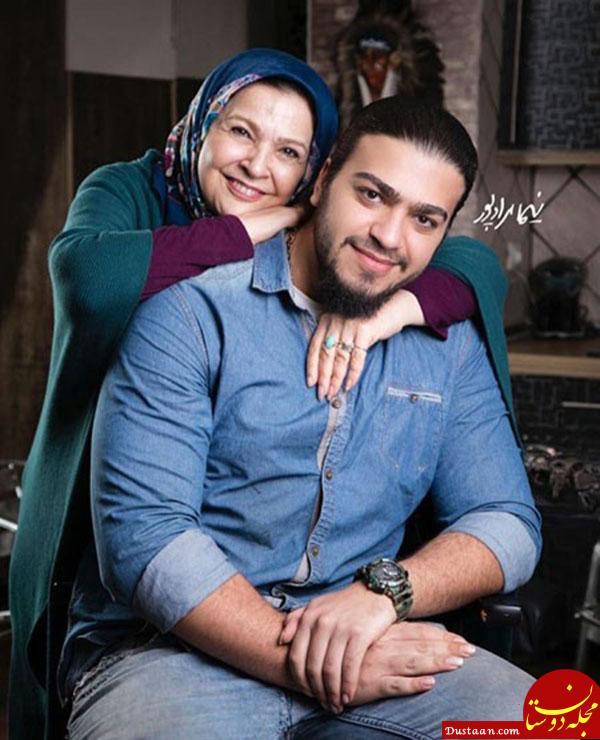 www.dustaan.com سلفی دیدنی افسر اسدی و همسرش اصغر همت