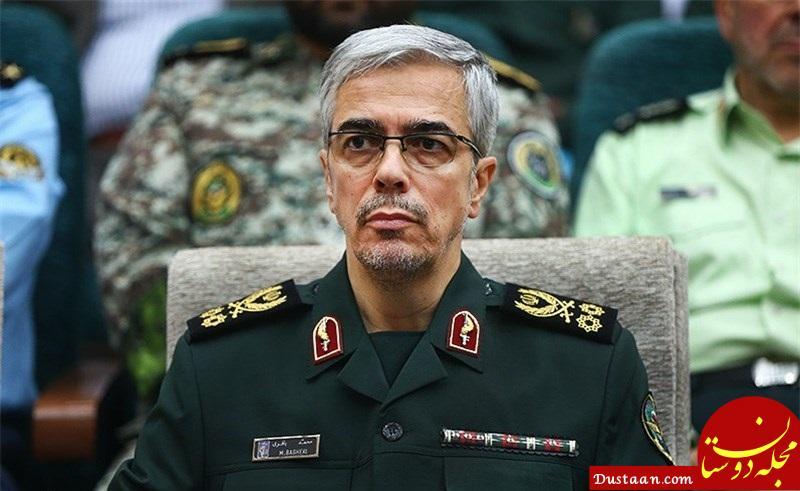 www.dustaan.com تصویری خاص و دیده نشده از سرلشگر باقری رئیس ستاد کل نیروهای مسلح + تصاویر