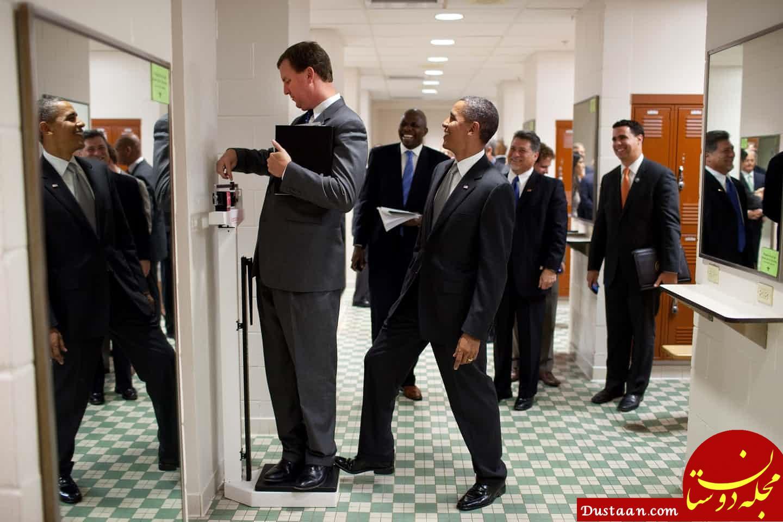 تصاویری خاص و متفاوت از اوباما در دوران ریاست جمهوری اش