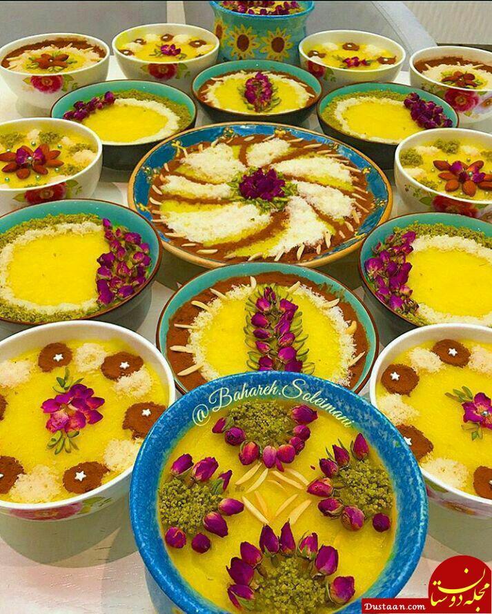 www.dustaan.com طرز تهیه شله زرد در خانه به سبکی آسان و خوشمزه +عکس